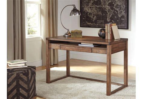 Overstock Home Office Desk Baybrin Rustic Brown Desk Overstock Warehouse
