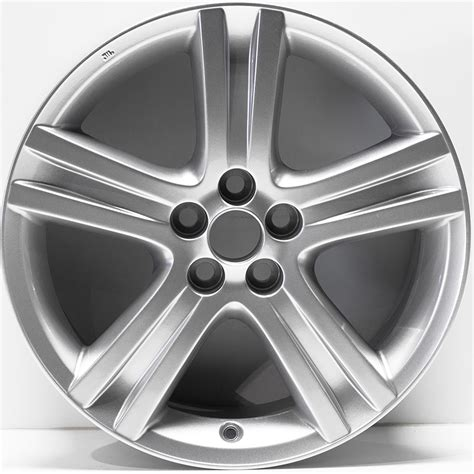 2009 Toyota Camry Lug Pattern 17 Quot Painted Silver By Jte Wheels For 2009 2013 Toyota