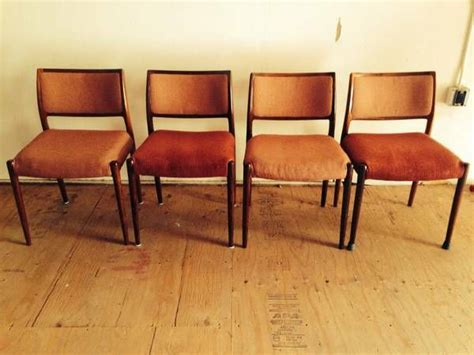 authentic niels otto moller rosewood dining chairs
