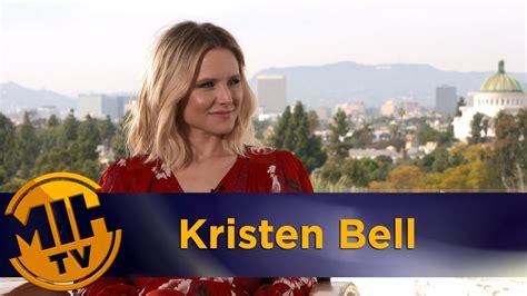 kristen bell in chips kristen bell chips interview youtube
