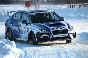 Subaru Sales In Canada Subaru Rally Team Canada Triumphant At Rallye Perce Neige