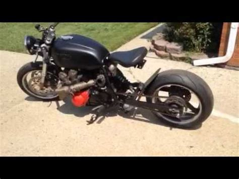 Turbo Chopper Kit 1979 honda cb750 dohc custom build with turbo kit