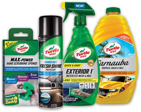 Products New new turtle wax