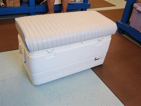 boat cooler seat backrest chest boat seats gallery