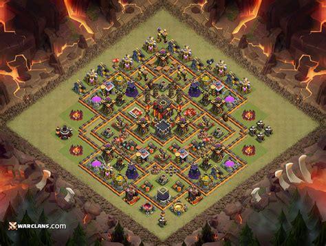 base war coc th 10 clash of clans расстановка базы тх 10 2016 clash картинки