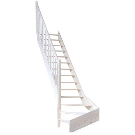 Escalier Quart Tournant Gauche 6822 by Escalier Quart Tournant Bas Gauche Deva Structure Bois