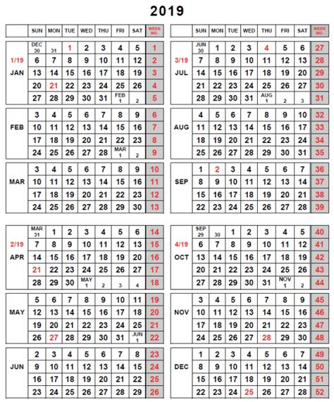 Iraq Calendã 2018 2018 Fiscal Week Calendar 28 Images Fiscal Calendars