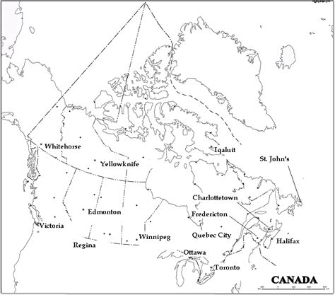white canada map canada map black and white