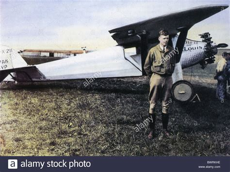 The Spirit Of St charles lindbergh with the spirit of st louis before