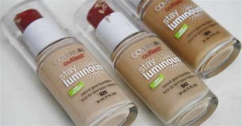 Promo Covergirl Outlast All Day Stay Fabulous Beige 840 size covergirl outlast stay luminous foundation in medium beige