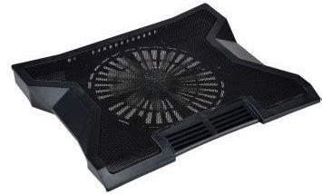 Vztec Big Fan Usb Cooler Pad Vz Nc2171 Black 2010 vztec notebook cooler pad with big central fan 883 black jakartanotebook