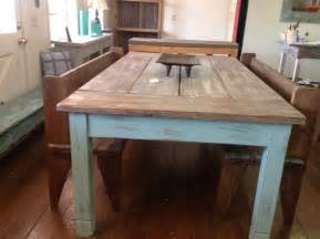 Farmers Kitchen Table Large Farmhouse Table