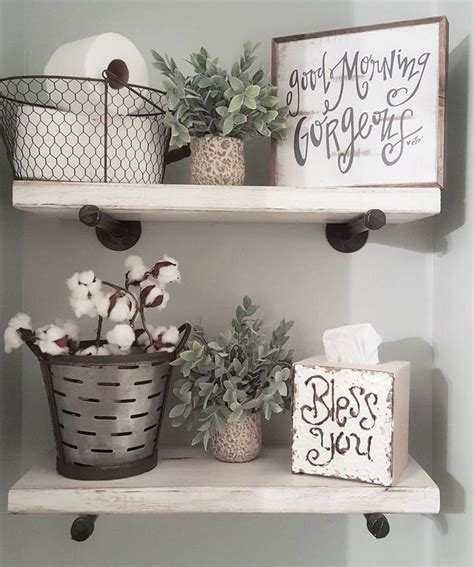 bathroom shelves decorating ideas 25 best farmhouse decor ideas on farm kitchen