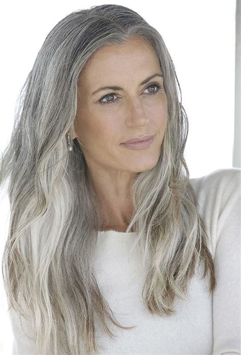 ladyphenom gray hair 96 best images about quot hot quot mature women on pinterest