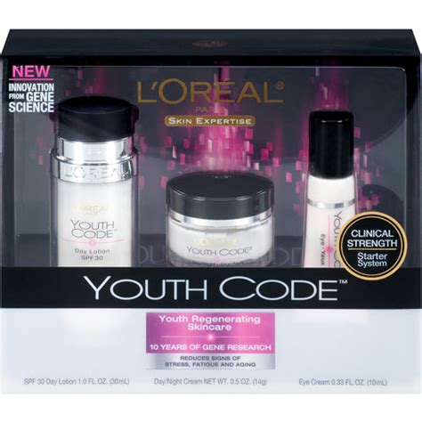 L Oreal Youth Code l oreal youth code regenerating skincare kit l
