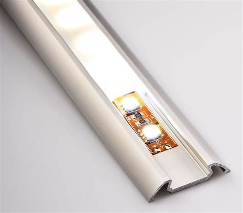 surface mounted led strip lights angled surface mount aluminum profile housing for led