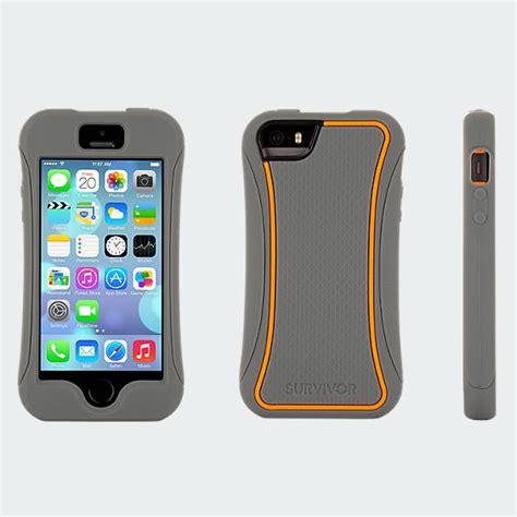 Griffin Survivor Iphone 5 5s griffin survivor slim for iphone 5 5s grey and orange