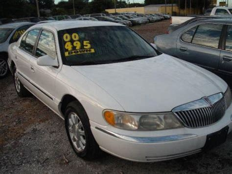 sell   lincoln continental    st