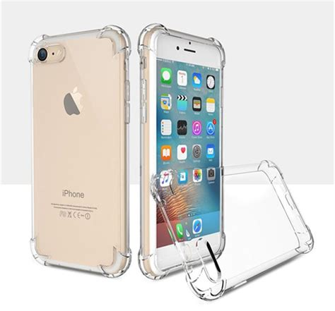 Casing Hp Shockproof Silicone Anti Knock Iphone 5 5s Iphone 5c anti knock tpu transparent clear protect cover four angle shockproof transparent soft
