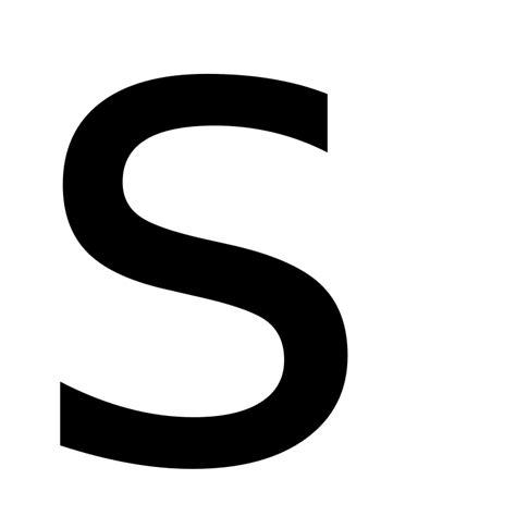 File Letter S Svg Wiktionary