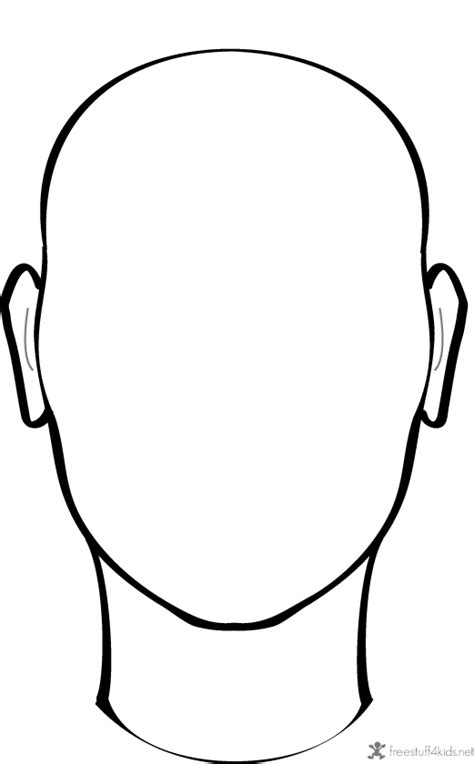 Blank Face To Draw On Drawings Pinterest Faces To Draw To Draw And Draw Drawing Template For