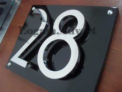 desain nomor rumah
