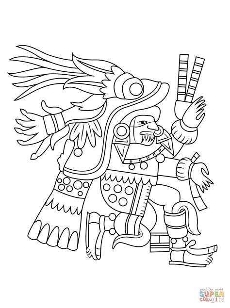 Aztec Skull Coloring Pages Coloring Pages Aztec Coloring Pages