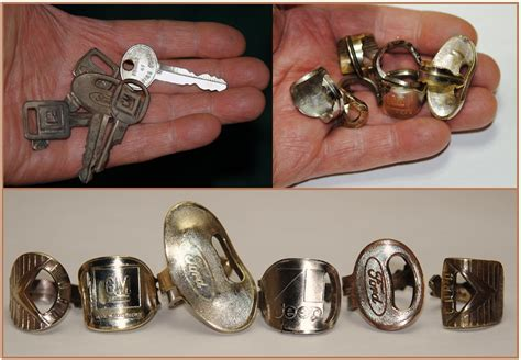 With These Rings We Do by Coinrings Spoonrings Cartridge Rings Lure Rings