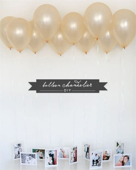 Diy Balloon Chandelier 31 Clever And Creative Uses For Balloons Stylish