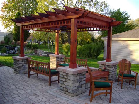 Patio Pergola Ideas by Patio Design Ideas Patio Design Ideas