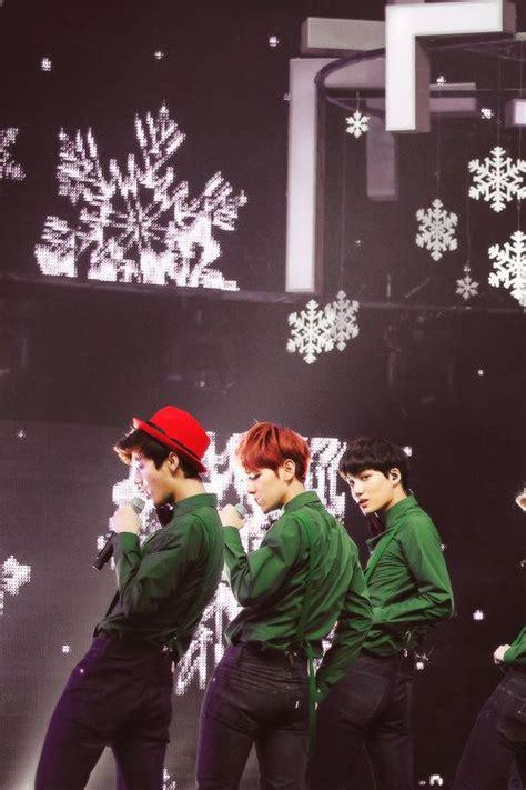 exo christmas day exo christmas day performance saranghae k pop pinterest