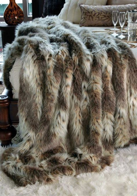 faux fur bed throw 25 best ideas about fur throw on pinterest grey fur