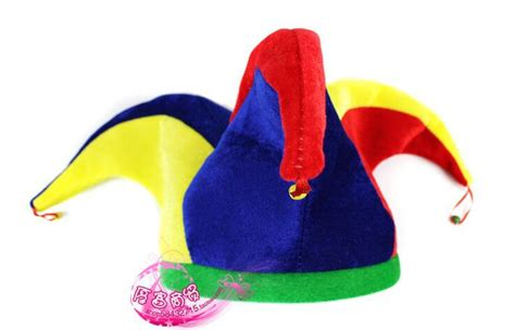How To Make A Jester Hat Out Of Paper - free shipping supplies clown hat trigonometric hat