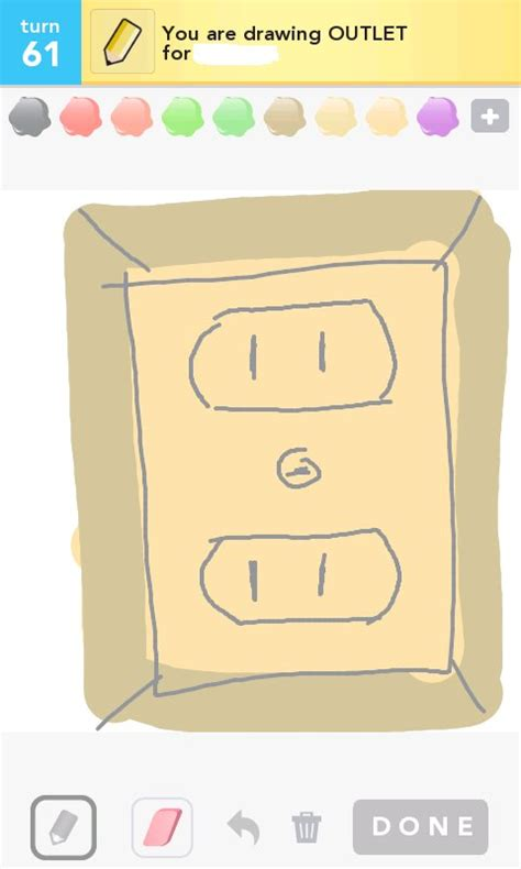outlet drawings how to draw outlet in draw something