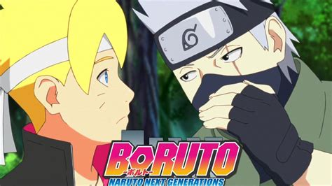 boruto vs kakashi kakashi vs boruto graduation exams begin boruto