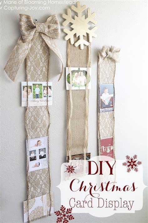 diy christmas card display capturing joy with kristen duke
