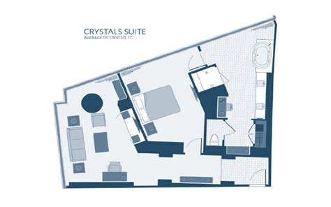 aria sky suite floor plan aria rooms suites