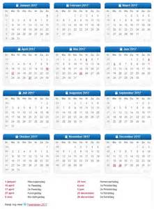 Kalender 2018 And 2019 Weeknummers 2016 2017 2018 2019 Netperk Outdoor