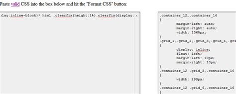 format html table with css 50 online css tools for web developers and designers