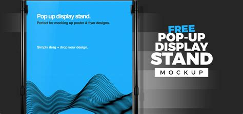 exhibition stand design mockup free download free pop up display stand mock up template