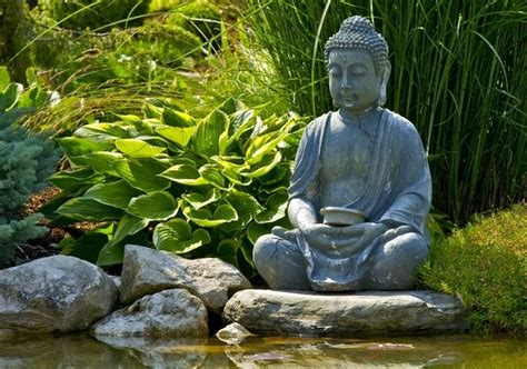 imagenes zen buda statue de jardin zen le bouddha 233 ternel et l art de