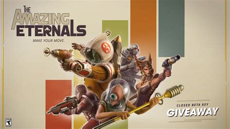 Beta Giveaway - the amazing eternals closed beta giveaway round 2