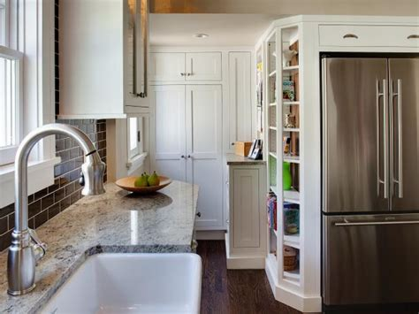 8 Small Kitchen Design Ideas To Try Hgtv Small Kitchen Design Pictures