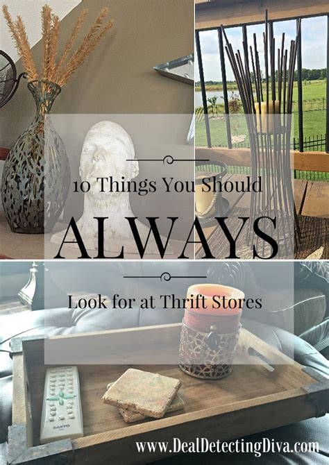 should you always look for 10 things your should always look for at thrift stores