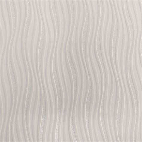 rasch wallpaper rasch luxe wave stripe pattern silver glitter wallpaper 317602