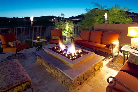 extravagant backyard fireplaces fire pits