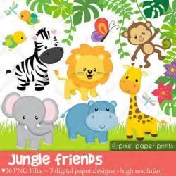 safari jungle baby animal clip art jungle animals clipart baby safari animals clip art baby