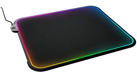 Qck Blue Gaming Mousepad steelseries qck prism rgb dual surface gaming pad gadgetynews