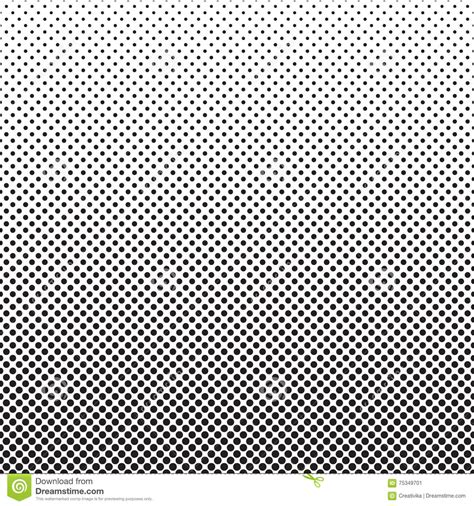 vector pattern fade halftone dots pattern gradient background stock vector