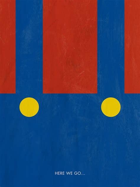super minimalist justin russo minimalist game posters
